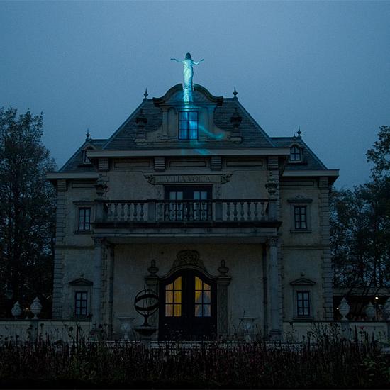 Villa Volta in de winter