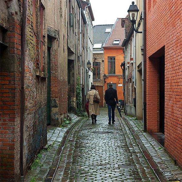 Het Patershol in Gent