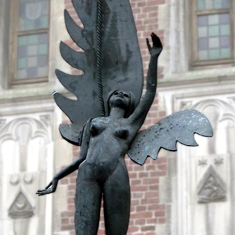 Standbeeld van Tanneken Sconyncx