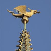 De draak op het Belfort
